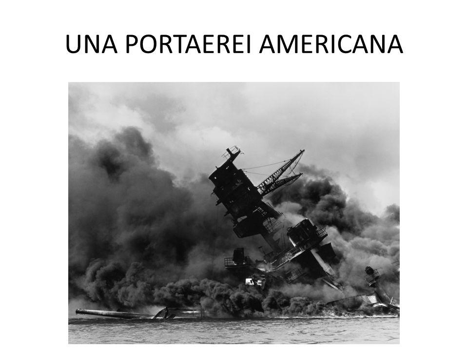 UNA PORTAEREI AMERICANA