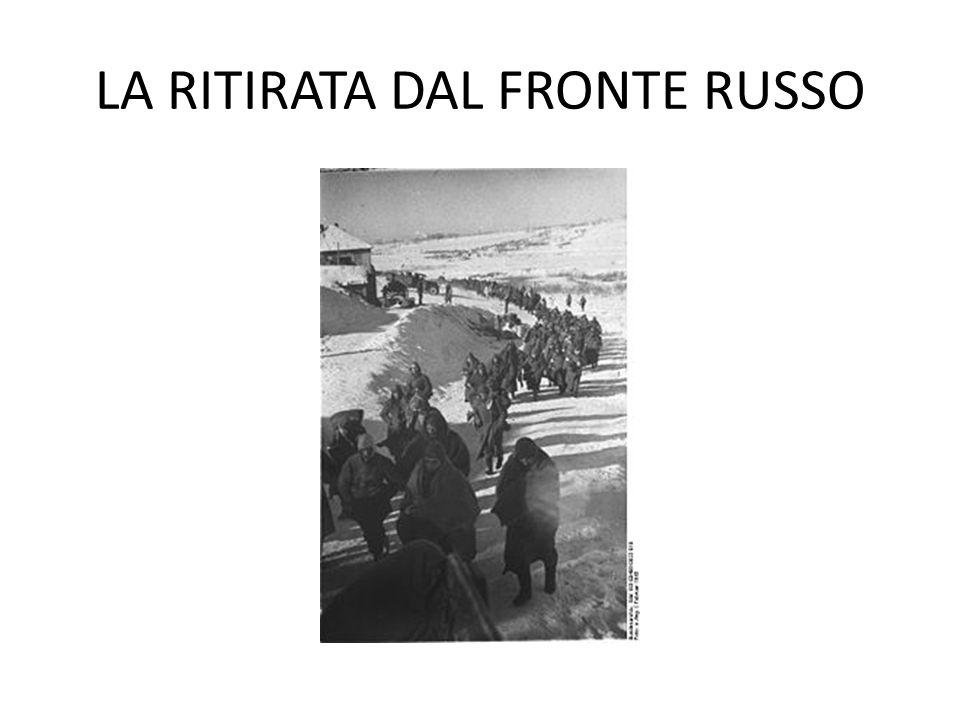 LA RITIRATA DAL FRONTE RUSSO