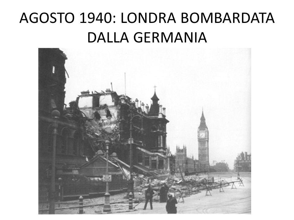 LONDRA BOMBARDATA
