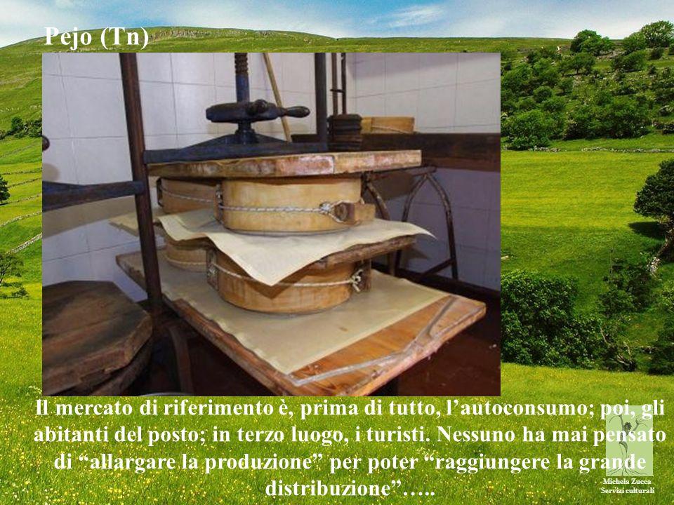 Michela Zucca Servizi culturali Il mercato di riferimento è, prima di tutto, l'autoconsumo; poi, gli abitanti del posto; in terzo luogo, i turisti.