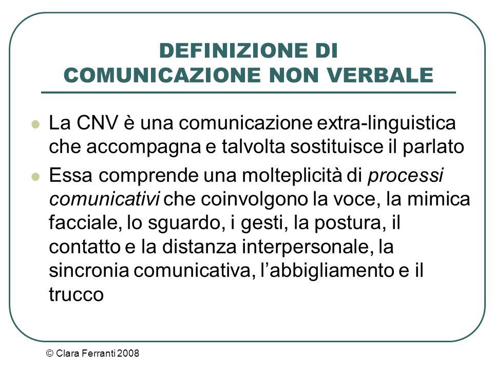 © Clara Ferranti 2008 intensità È il volume dell'emissione fonica.