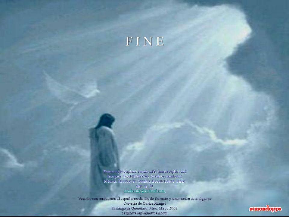 sento che ci salverà! E la fede che…...hai acceso in noi