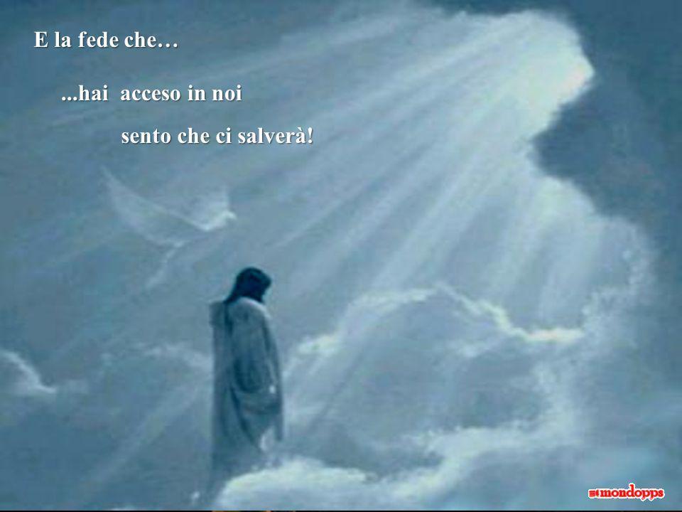 Permetti che questa sia la nostra preghiera Così come ogni bambino Ha bisogno di trovare un luogo Guidaci con la tua grazi a Donaci la fede allora saremo salvi