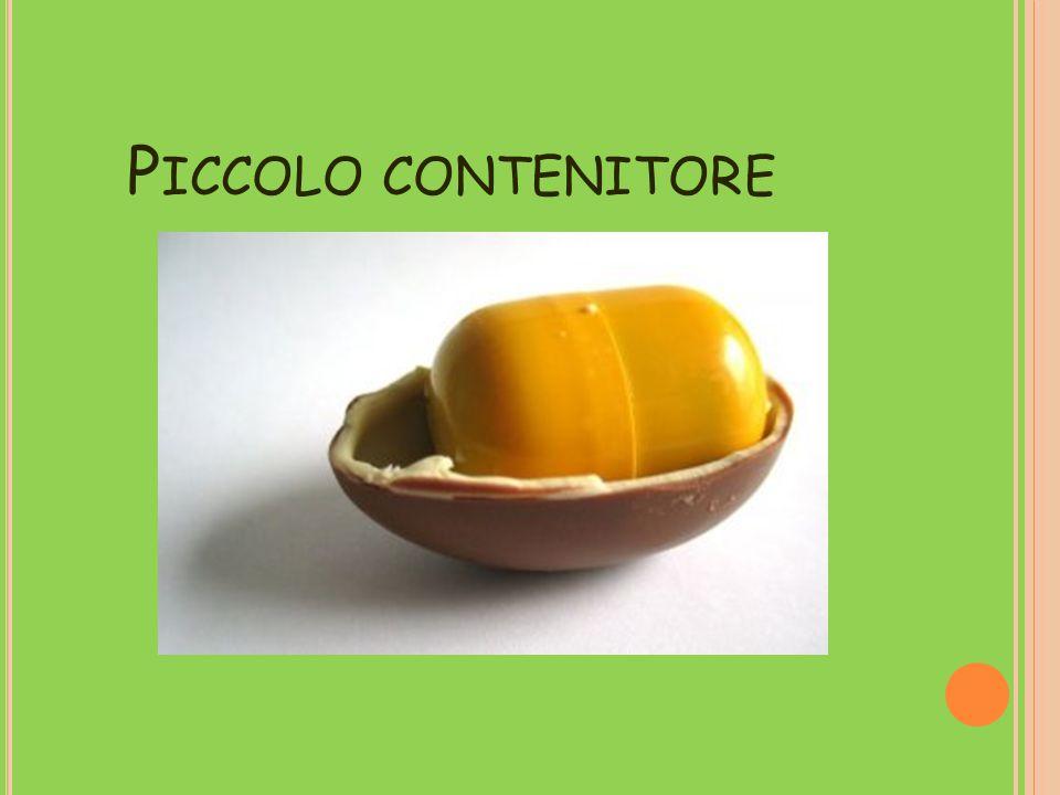 P ICCOLO CONTENITORE