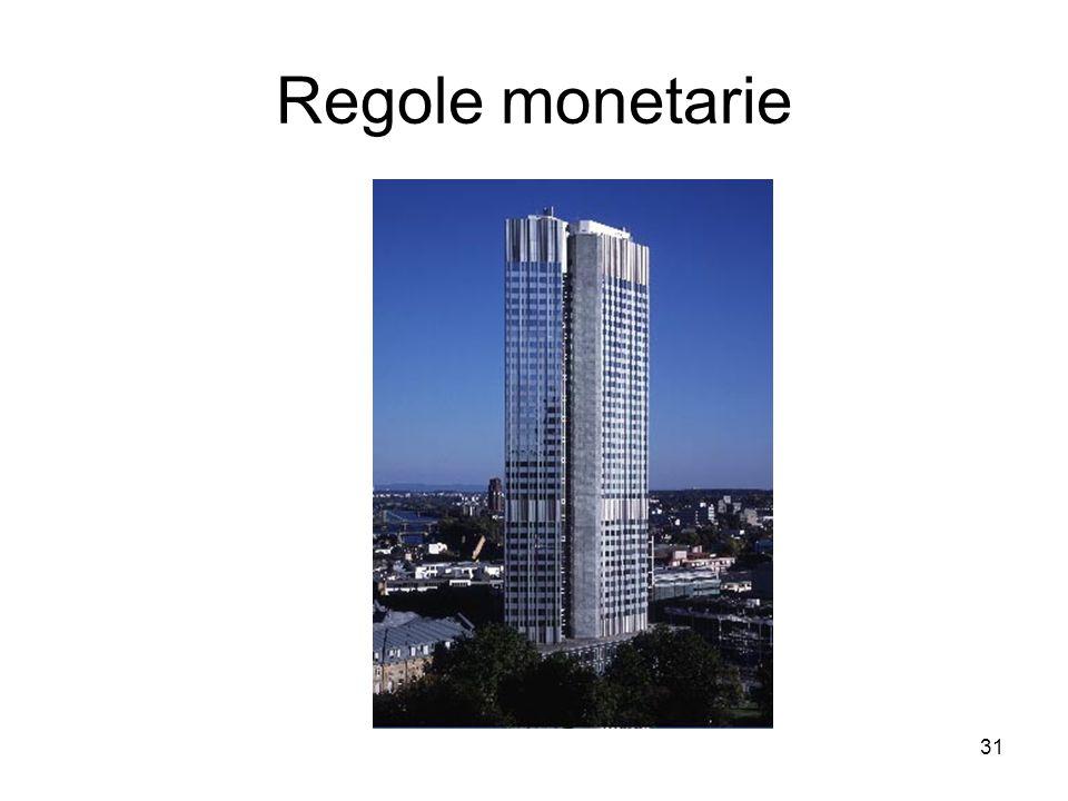 31 Regole monetarie