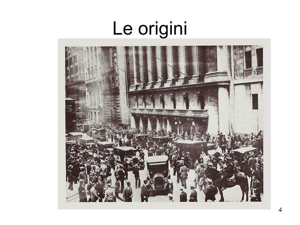 4 Le origini
