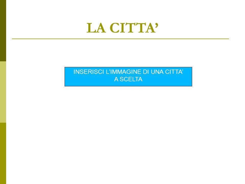 GLI ELEMENTI DI UNA CITTA': 5. LE PORTE Immagine Indica per ogni immagine in quale città si trova: