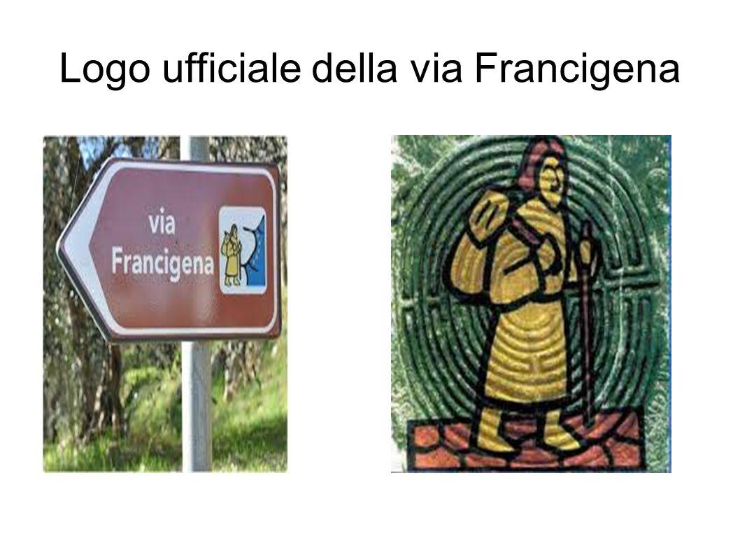 Logo ufficiale della via Francigena