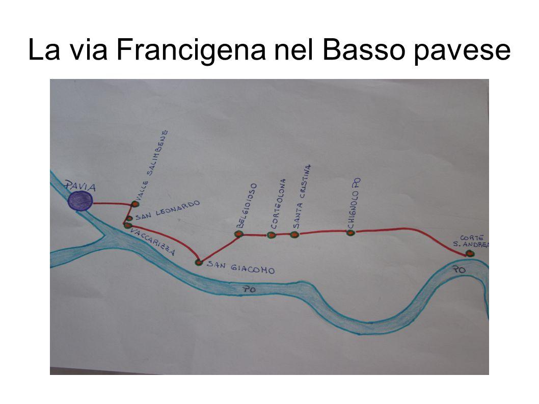 La via Francigena nel Basso pavese