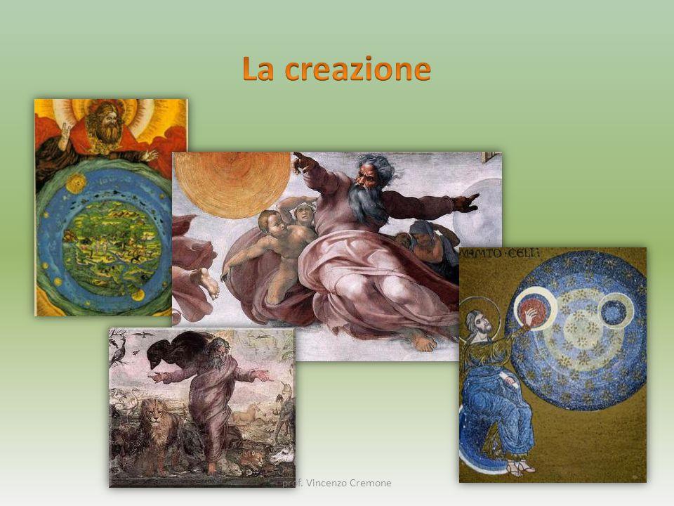 Genesi 1, 1 – 2, 1 – 4a Genesi 2, 4b - 25 prof. Vincenzo Cremone