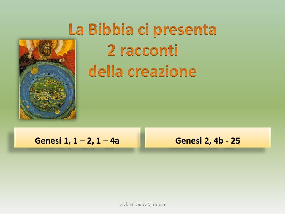 1In principio Dio creò il cielo e la terra.