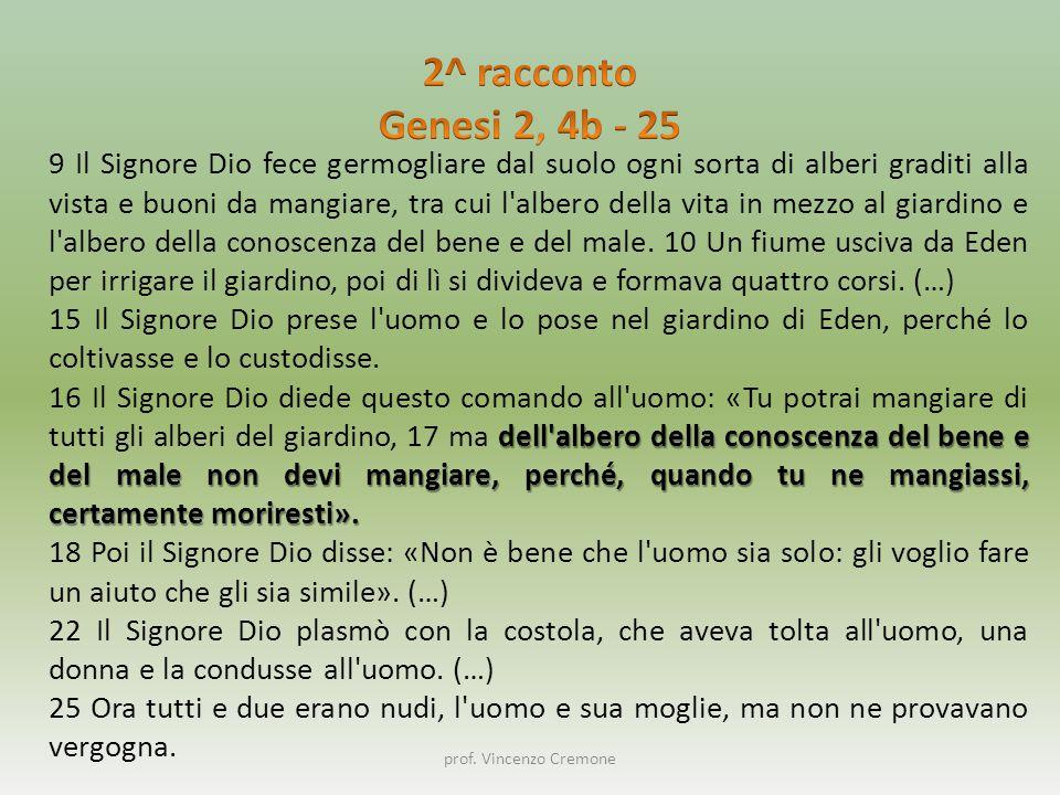 prof.Vincenzo Cremone La creazione è fatta in modo da tendere all'ora dell'adorazione.