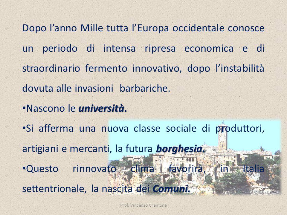 Prof. Vincenzo Cremone
