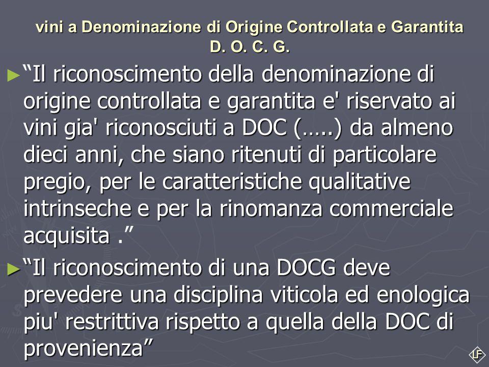 LF Ed ecco una rapida presentazione delle 13 zone di produzione D.O.C e D.O.C.G. umbre I vini a Denominazione di Origine Controllata D. O. C. COLLI AL