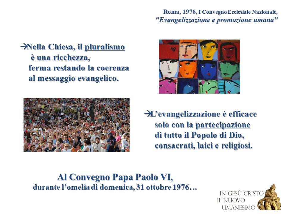 Roma, 1976, I Convegno Ecclesiale Nazionale,