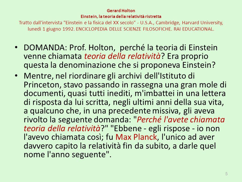 CAPITOLO 10 L'ETERE NON VUOLE MORIRE. Fitzgerald - Lorentz Poincaré 176