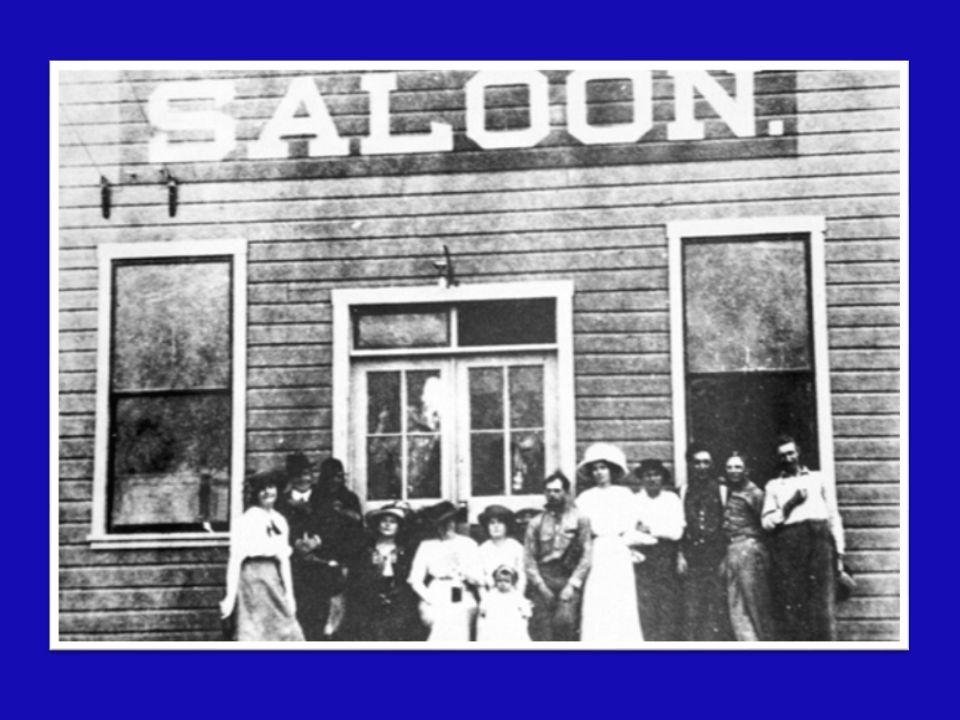 Il saloon era il club del povero… il grande incontro al coperto
