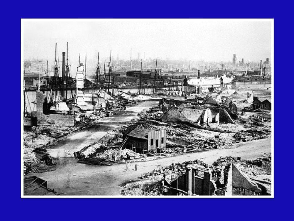 Chicago mantenne molti caratteri di un borgo di pionieri sino all'inizio del secolo XX Chicago mantenne molti caratteri di un borgo di pionieri sino all'inizio del secolo XX