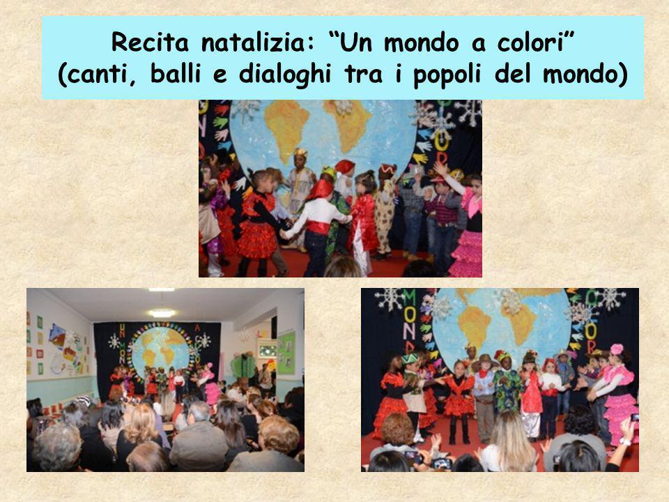 """Recita natalizia: """"Un mondo a colori"""" (canti, balli e dialoghi tra i popoli del mondo)"""