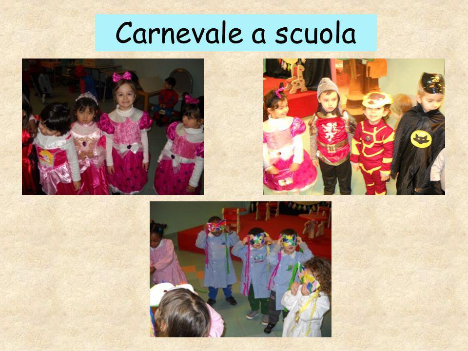 Carnevale a scuola