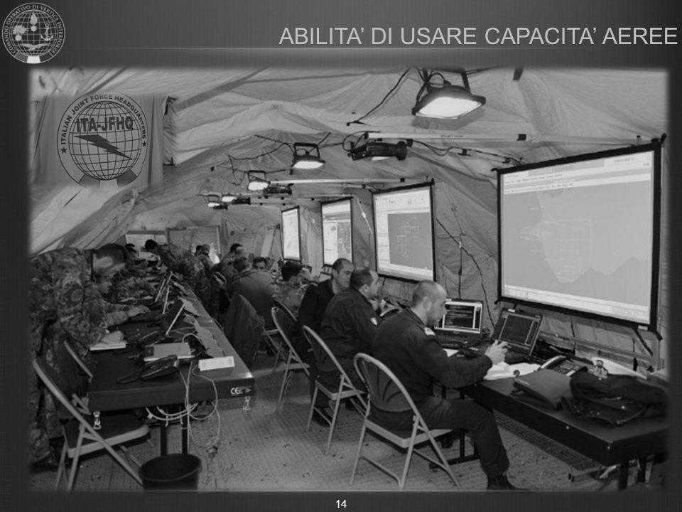 ABILITA' DI USARE CAPACITA' AEREE 14