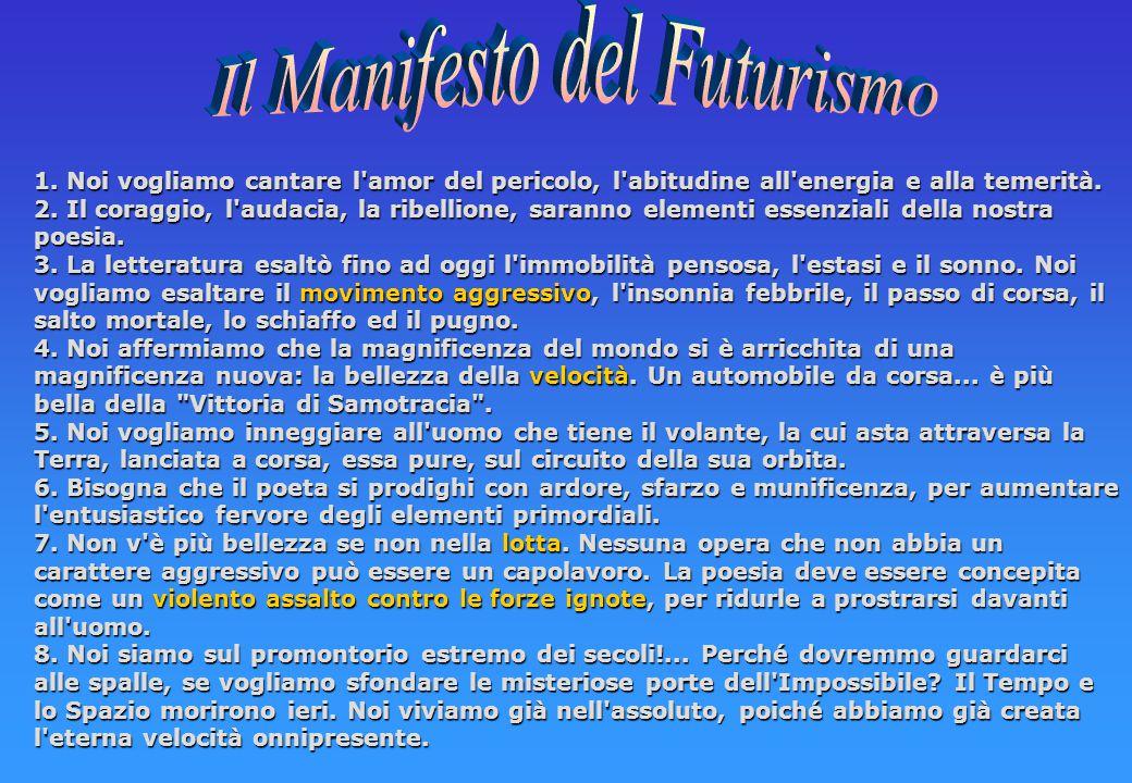 Le idee Una rivoluzione estetica di massa: Il futurismo precede ampiamente il fascismo, che nella sua fase