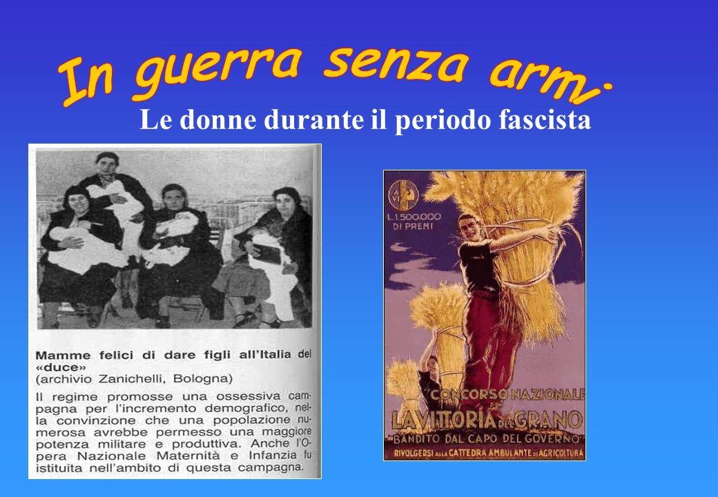 Propaganda Fascista sul ruolo delle donne Fate figli, il numero è potenza! Lo scopo della vita di ogni donna è il figlio… La sua maternità psichica e