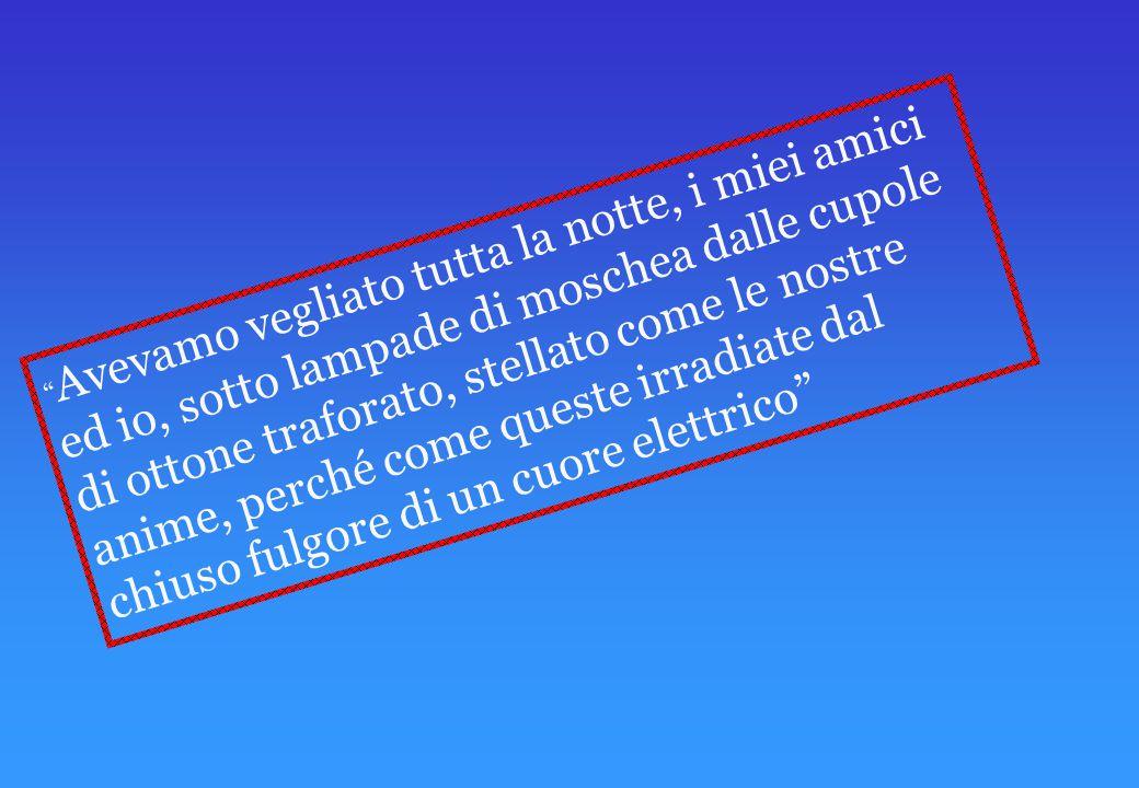 FILIPPO TOMMASO MARINETTI, POETA E SCRITTORE ITALIANO, MA FRANCESE DI FORMAZIONE. NAcque IL 22 DICEMBRE 1876 AD ALESSANDRIA D'EGITTO DA UNA FAMIGLIA B