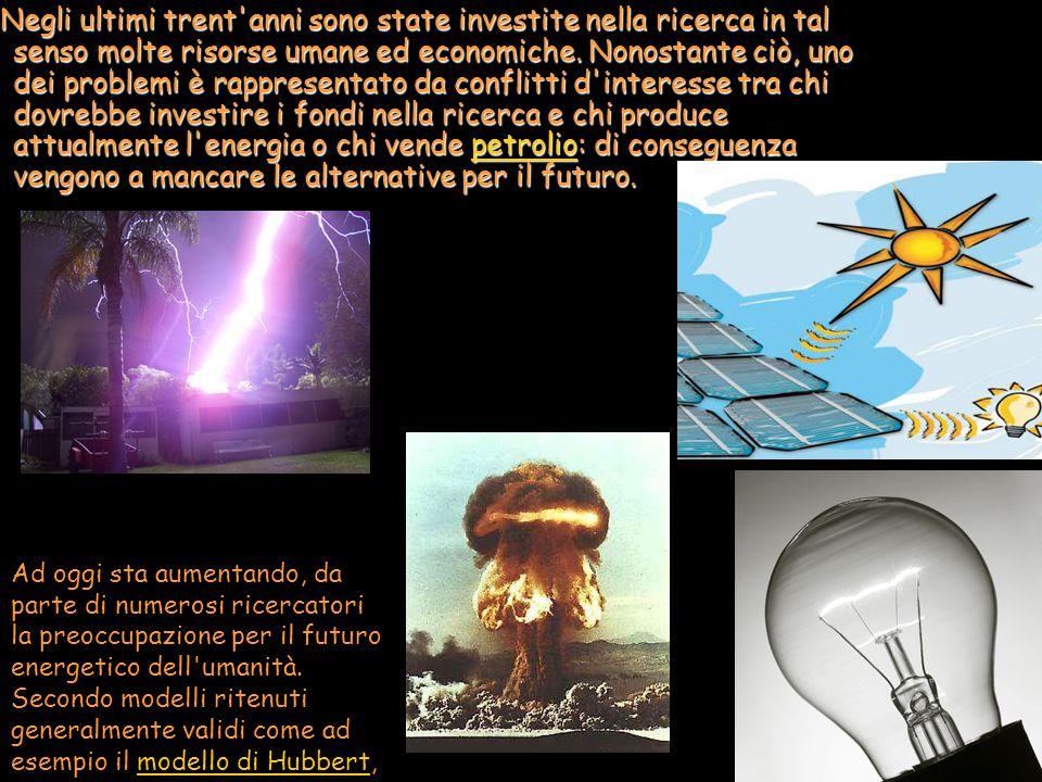 Negli ultimi trent'anni sono state investite nella ricerca in tal senso molte risorse umane ed economiche. Nonostante ciò, uno dei problemi è rapprese