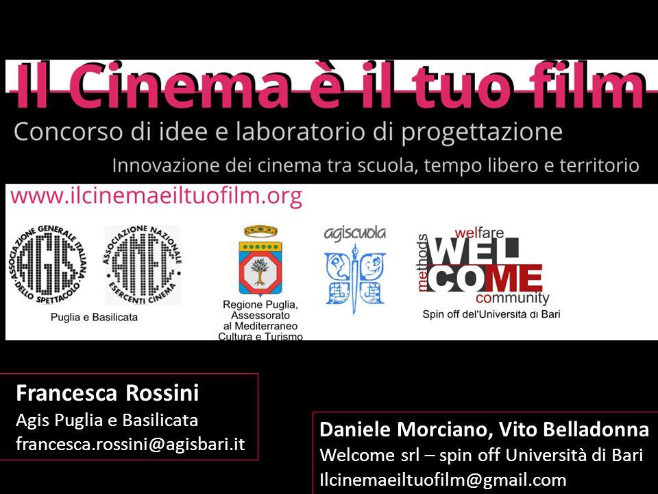 Il progetto Il Cinema è il tuo film è un laboratorio per la formazione di esperti capaci di promuovere le sale cinematografiche come luoghi di cultura e intrattenimento educativo rivolti soprattutto ai giovani.