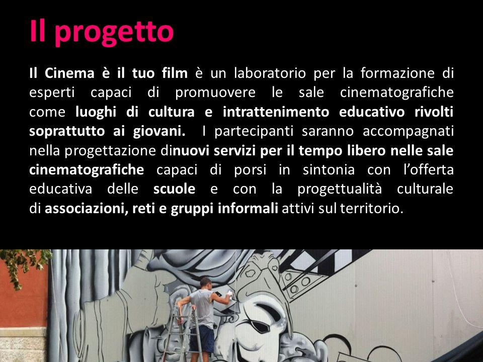 Come nasce il progetto Ideare e progettare nuovi servizi per il tempo libero nelle sale Collaborazione tra Agis Puglia e Wel.Co.Me.