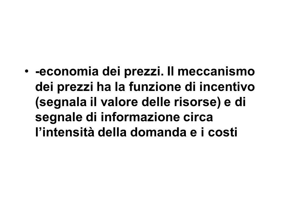 -economia dei prezzi.