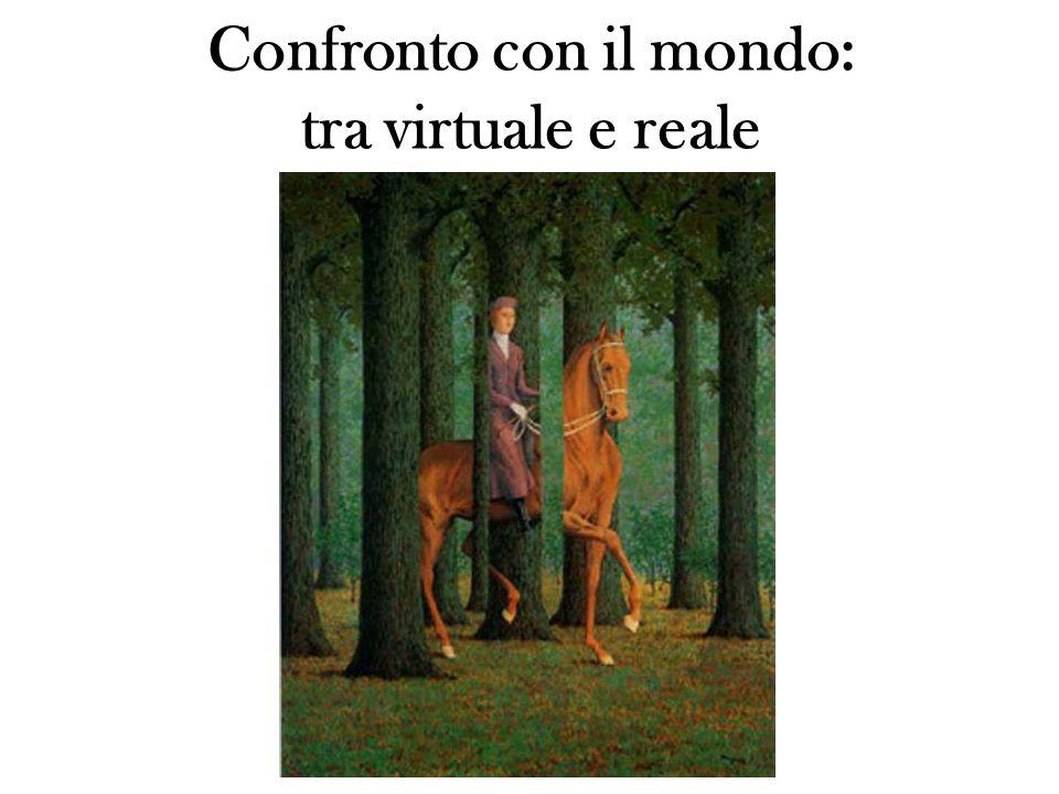 Confronto con il mondo: tra virtuale e reale
