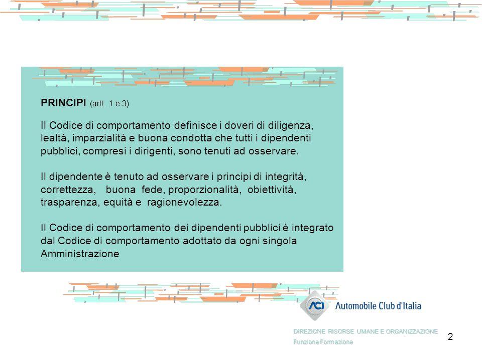 13 COMPITI DELL'UFFICIO PROCEDIMENTI DISCIPLINARI (art.