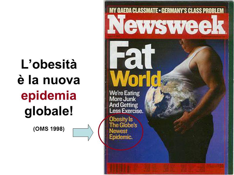 L'obesità è la nuova epidemia globale! (OMS 1998)