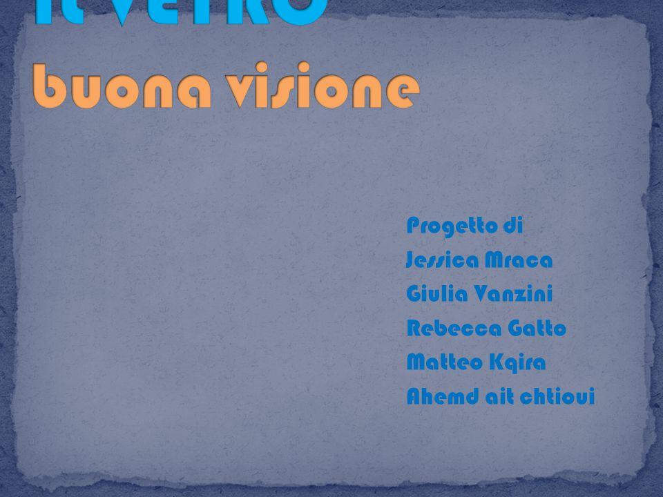 Progetto di Jessica Mraca Giulia Vanzini Rebecca Gatto Matteo Kqira Ahemd ait chtioui