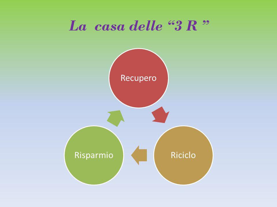 La casa delle 3 R RecuperoRicicloRisparmio