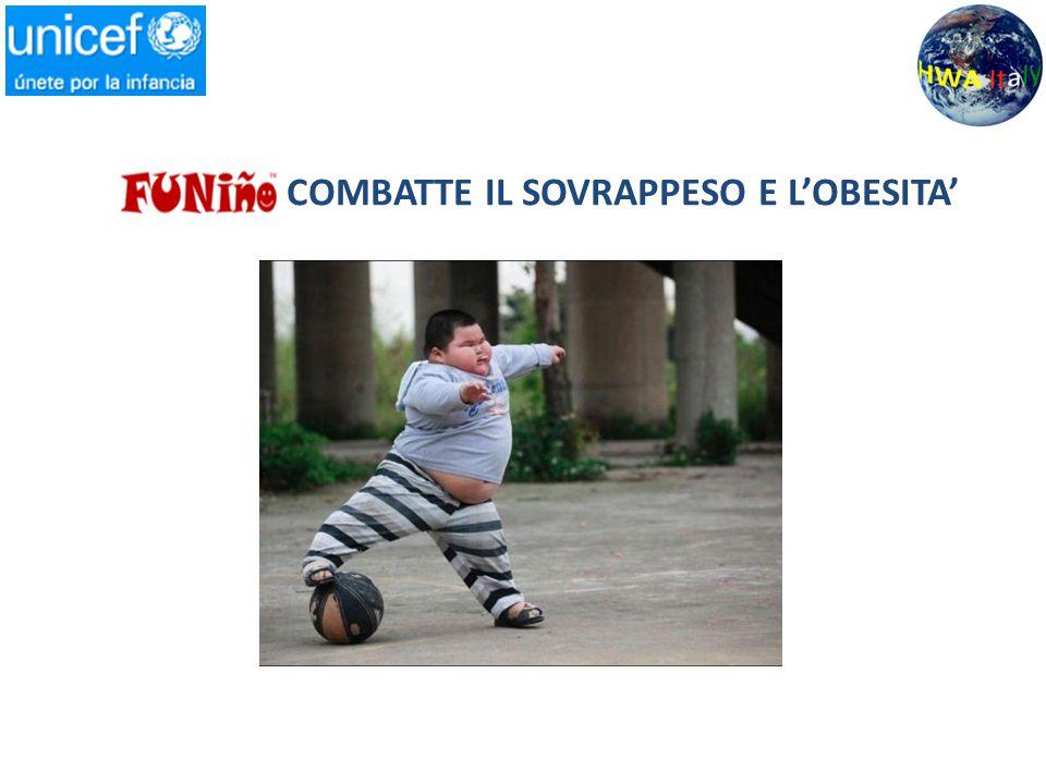 I bambini che giocano il FUNiño hanno lo stesso consumo di calorie dei professionisti Dal punto di vista sanitario l'obesità è associata a gravi patologie quali il diabete, il cancro, l'ipertensione e le cardiopatie Un adulto su tre è affetto da obesità, epidemia che coinvolge il 58% degli europei ed il 70 % degli americani