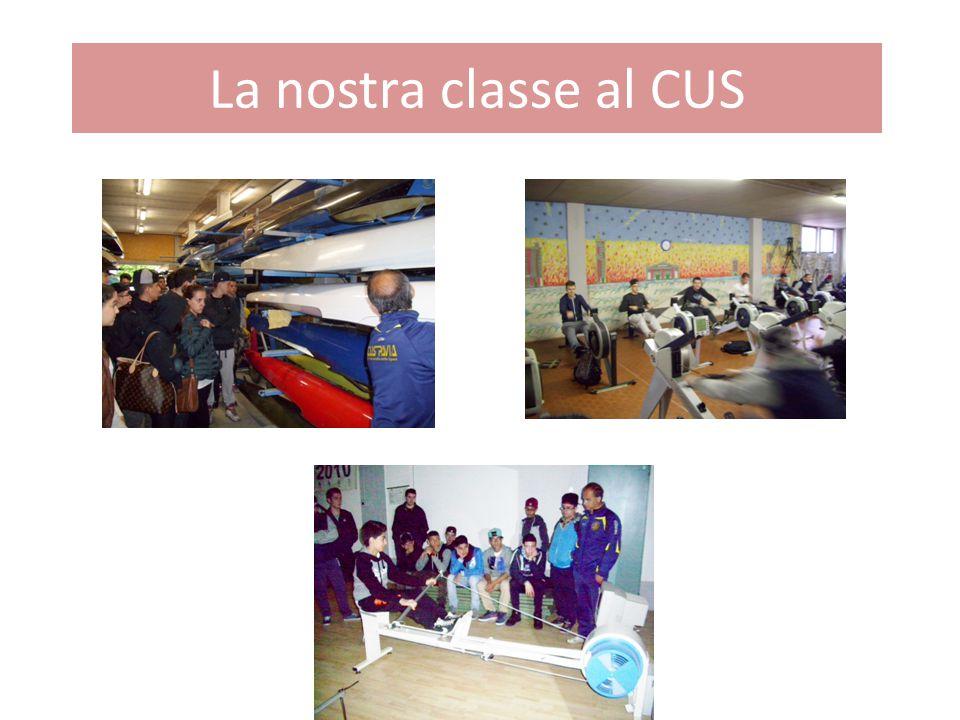 La nostra classe al CUS