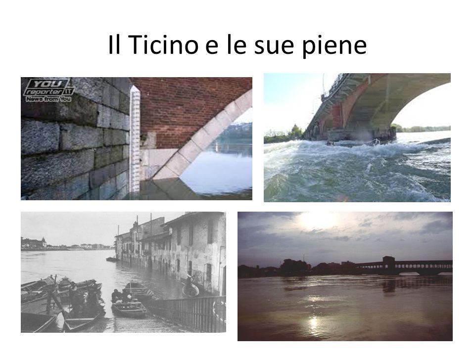 Il Ticino e le sue piene