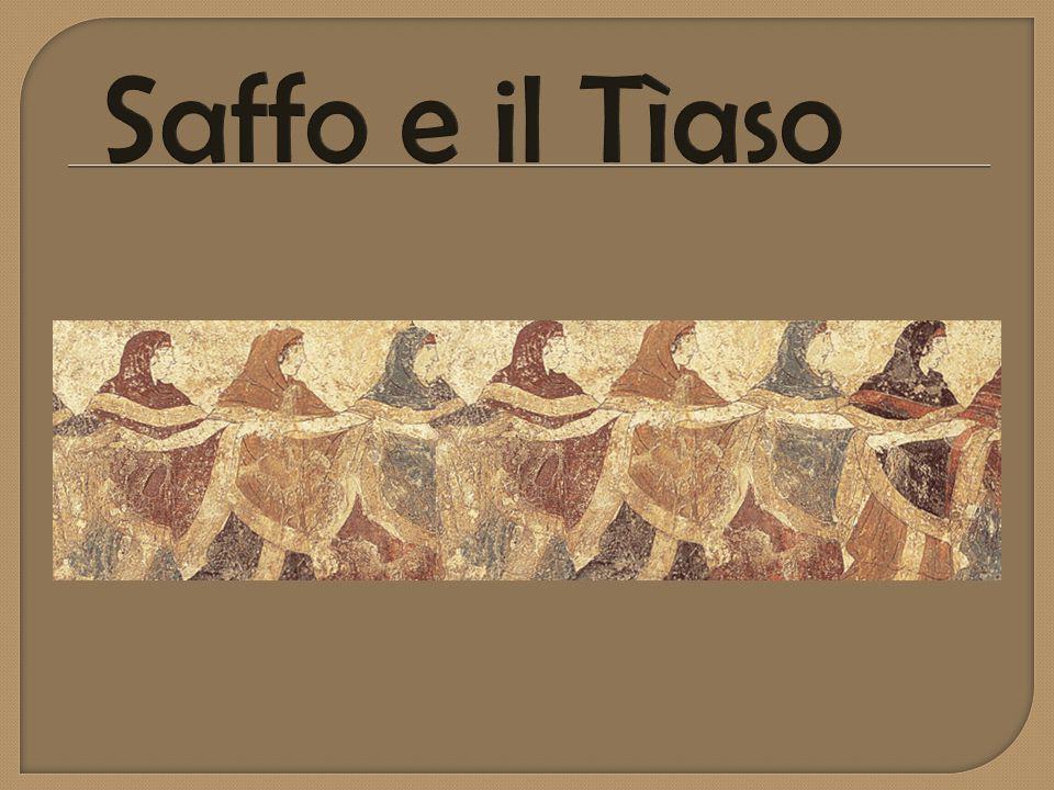  È la stessa Saffo a parlarcene in uno dei suoi componimenti: Quale zoticona ti strega la mente.