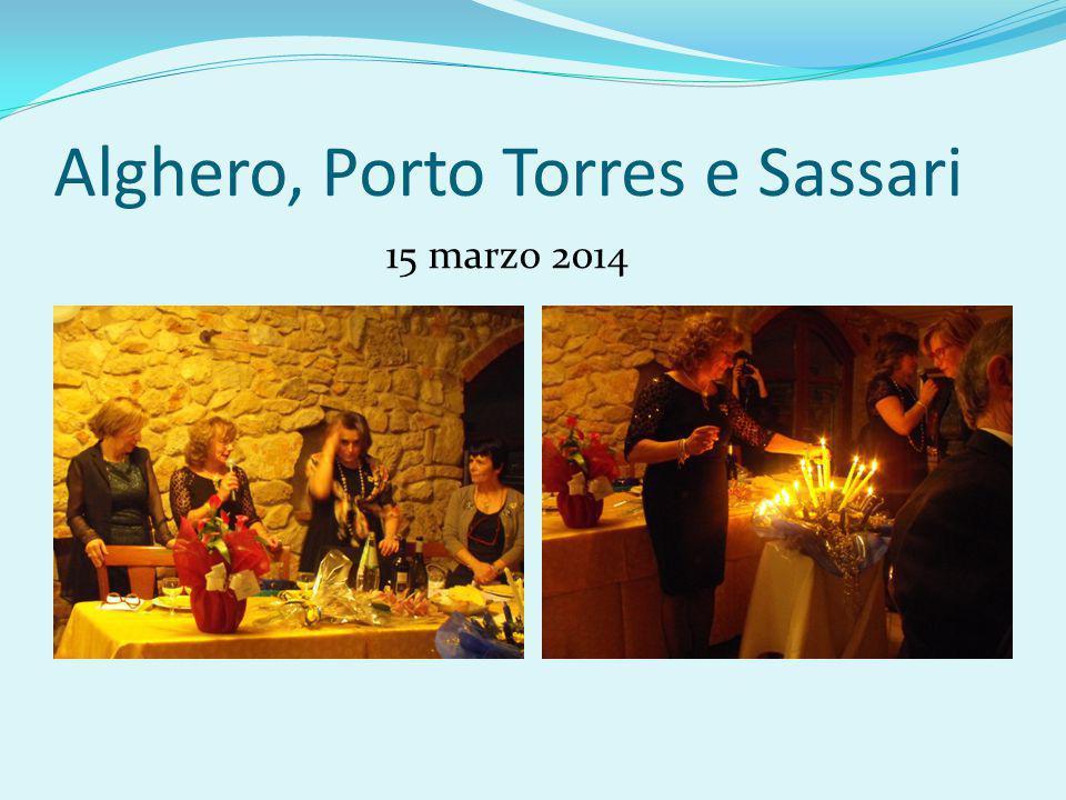 Alghero, Porto Torres e Sassari 15 marzo 2014