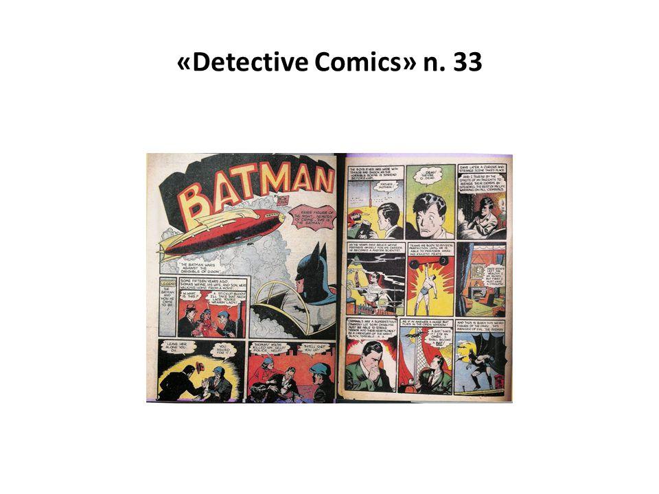 «Detective Comics» n. 33