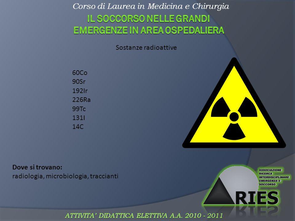 Corso di Laurea in Medicina e Chirurgia Acidi e basi Frasi di rischio: R34 (corosivo), R35 (molto corosivo) Dove si trovano: detergenti (ammoniaca), disinfettanti (HCl, acido tartarico) Come si neutralizzano: ACQUA!!.