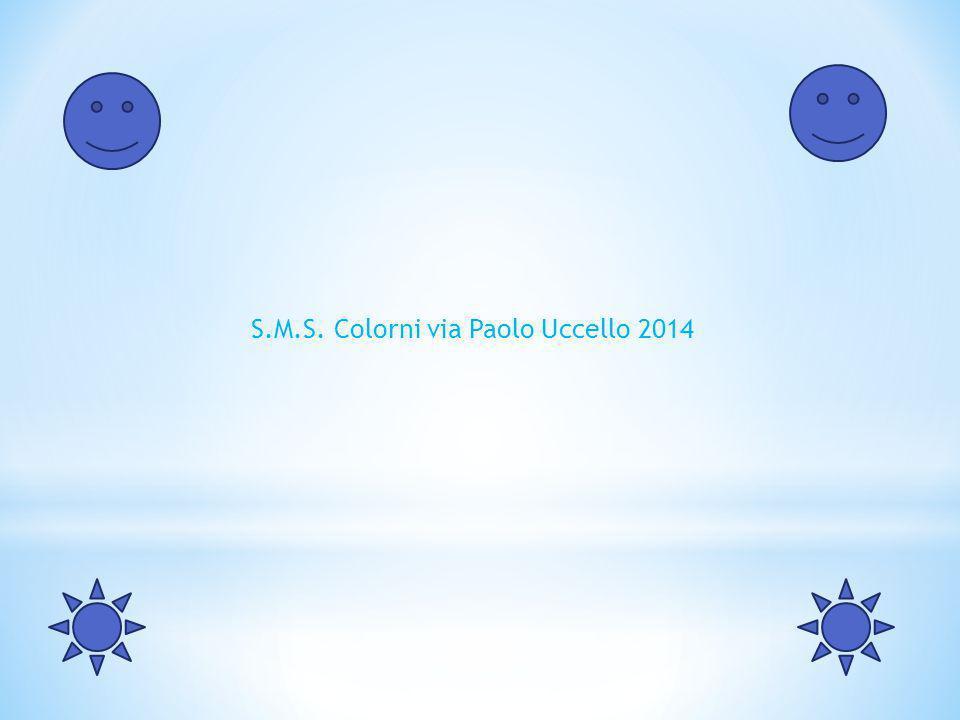 S.M.S. Colorni via Paolo Uccello 2014