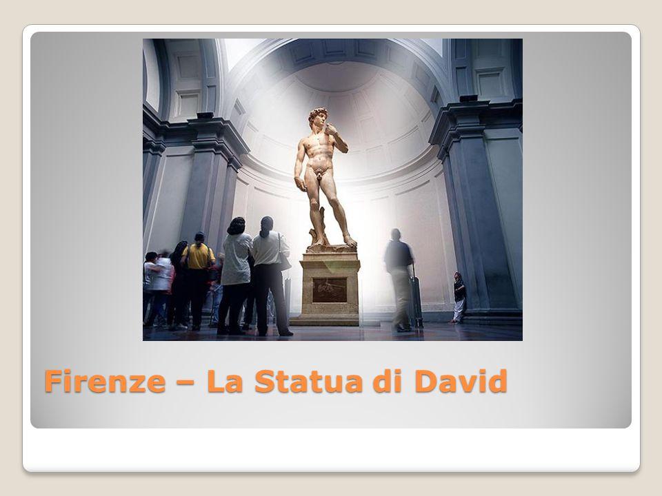 Firenze – La Statua di David
