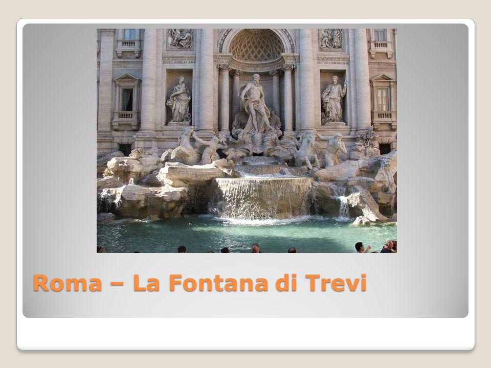 Roma – La Fontana di Trevi