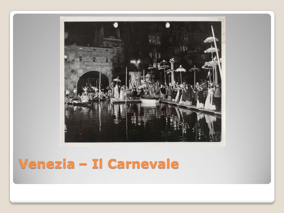 Venezia – Il Carnevale