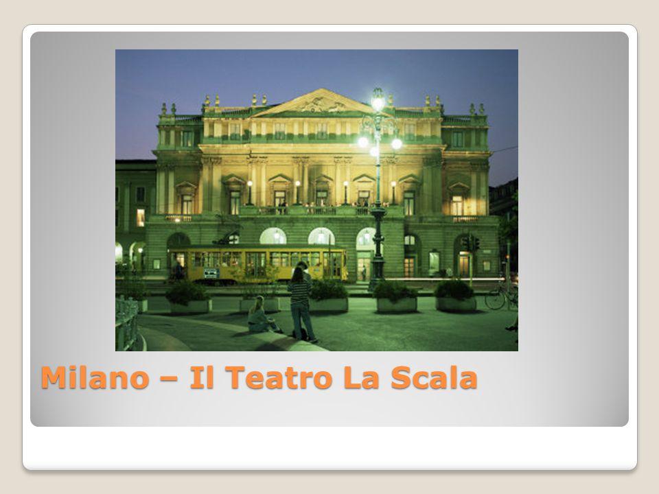 Milano – Il Teatro La Scala