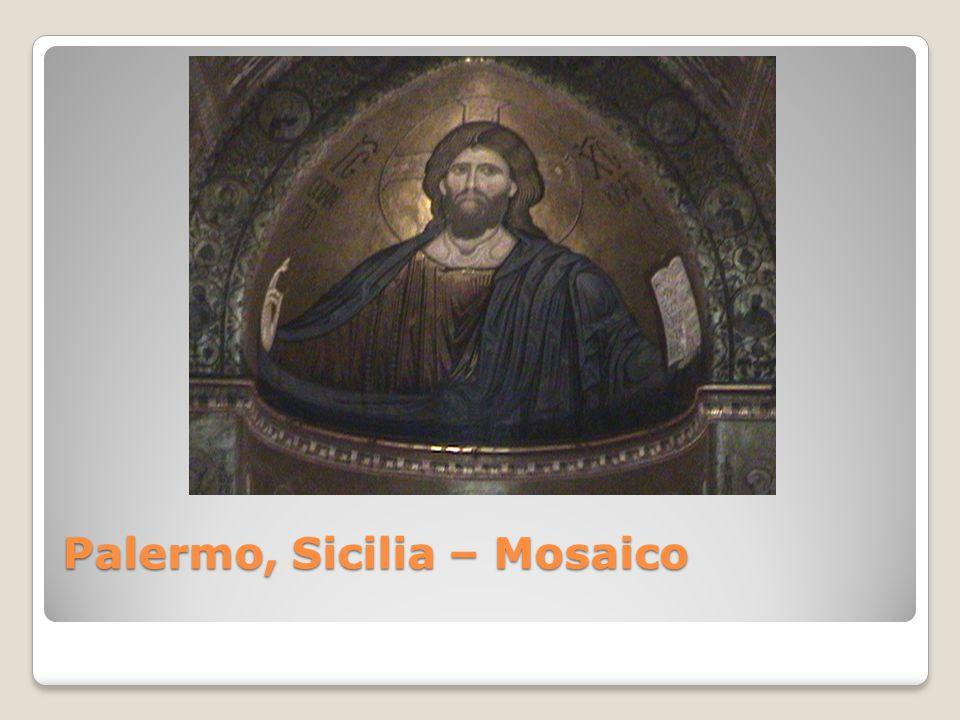 Palermo, Sicilia – Mosaico